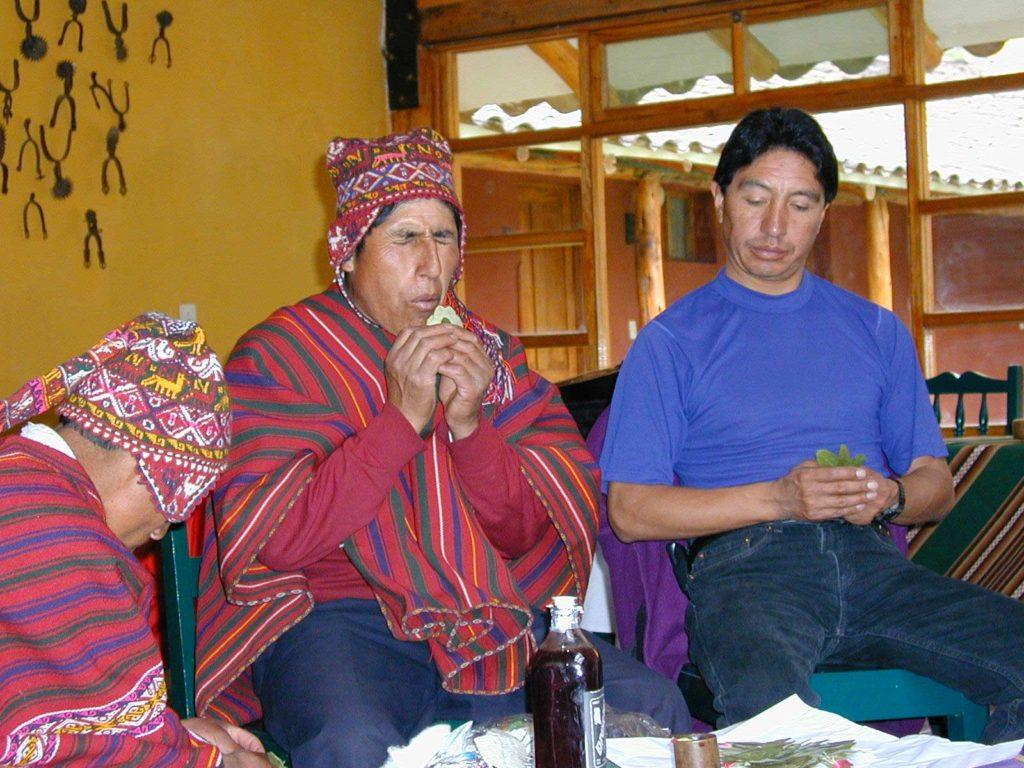 Shaman Pachamama Ceremony
