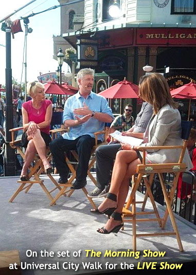 The Morning Show at Universal City Walk